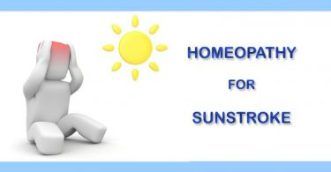 sunstroke heatstroke homeop
