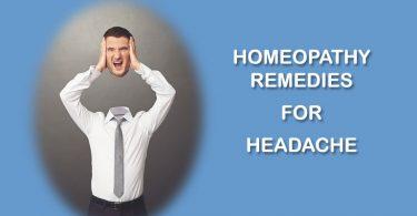 homeopathy remedies for headache treatment