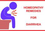 homeopathy remedies for diarrhea treatment