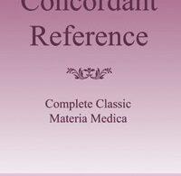 ConcordantReference CompleteClassicalMateriaMedica