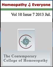 Homeopathy 4 Everyone August 2013