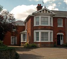 Allen College's building in Chelmsford, Essex, England
