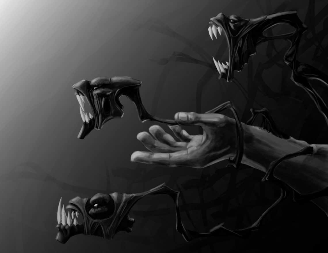 Black anger by mikael lem