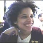 Shana smiling in profile @ Sabrinas