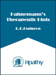 Hahnemann's-therapeutic-hin