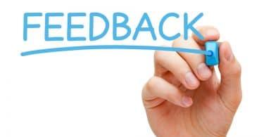 feedback e