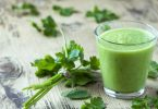 Green smoothie for vaccine detox