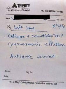 Encephalitis with Right Sided Pneumonia 8