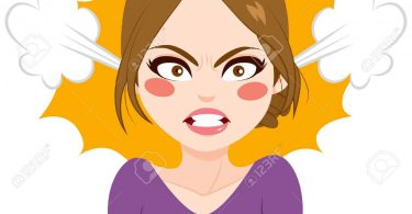 angry lady