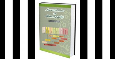 """Invertebrates in Homeopathy"" by Dr Ghanshyam Kalathia is reviewed by Dr. B V S Ganeswara Rao 7"